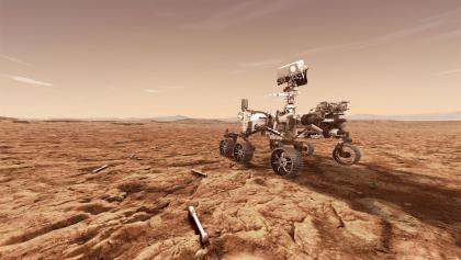 "NASA的""火星2020""火星探测器"